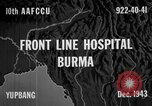 Image of Chinese casualties evacuated Burma, 1943, second 7 stock footage video 65675072107