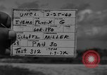 Image of Pershing missile Cape Canaveral Florida USA, 1960, second 8 stock footage video 65675072131