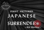 Image of Japanese surrender Ie Shima Ryukyu Islands, 1945, second 1 stock footage video 65675072158