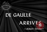 Image of Charles De Gaulle Washington DC USA, 1945, second 2 stock footage video 65675072161