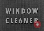 Image of window cleaner New York United States USA, 1945, second 11 stock footage video 65675072164