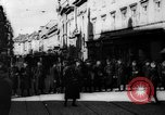 Image of German troops Vienna Austria, 1938, second 2 stock footage video 65675072166