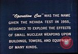 Image of Operation Cue Nevada United States USA, 1964, second 4 stock footage video 65675072219