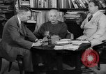 Image of Albert Einstein Princeton New Jersey USA, 1946, second 2 stock footage video 65675072233