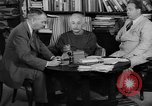 Image of Albert Einstein Princeton New Jersey USA, 1946, second 5 stock footage video 65675072233