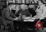 Image of Albert Einstein Princeton New Jersey USA, 1946, second 6 stock footage video 65675072233