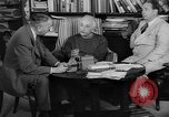 Image of Albert Einstein Princeton New Jersey USA, 1946, second 10 stock footage video 65675072233