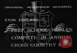 Image of Annual Cross Country Race Eton England, 1933, second 3 stock footage video 65675072246