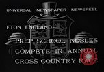 Image of Annual Cross Country Race Eton England, 1933, second 8 stock footage video 65675072246