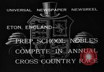 Image of Annual Cross Country Race Eton England, 1933, second 11 stock footage video 65675072246