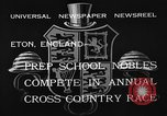 Image of Annual Cross Country Race Eton England, 1933, second 12 stock footage video 65675072246