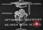 Image of brewers make beer after prohibition ends Chicago Illinois USA, 1933, second 1 stock footage video 65675072249