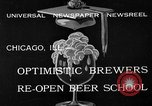 Image of brewers make beer after prohibition ends Chicago Illinois USA, 1933, second 3 stock footage video 65675072249