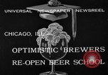 Image of brewers make beer after prohibition ends Chicago Illinois USA, 1933, second 5 stock footage video 65675072249