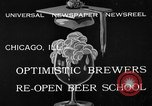 Image of brewers make beer after prohibition ends Chicago Illinois USA, 1933, second 7 stock footage video 65675072249
