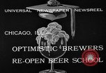 Image of brewers make beer after prohibition ends Chicago Illinois USA, 1933, second 9 stock footage video 65675072249