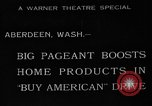 Image of American products Aberdeen Washington USA, 1933, second 1 stock footage video 65675072251