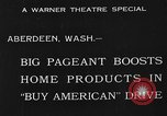 Image of American products Aberdeen Washington USA, 1933, second 7 stock footage video 65675072251