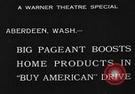 Image of American products Aberdeen Washington USA, 1933, second 11 stock footage video 65675072251