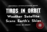 Image of TIROS weather satellite Cape Canaveral Florida USA, 1960, second 3 stock footage video 65675072253