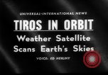 Image of TIROS weather satellite Cape Canaveral Florida USA, 1960, second 5 stock footage video 65675072253