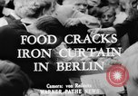 Image of oranges and cherries Berlin Germany, 1951, second 2 stock footage video 65675072260
