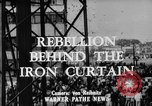 Image of East German workers rebellion Berlin Germany, 1953, second 2 stock footage video 65675072261