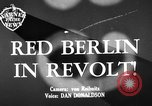 Image of revolt Berlin Germany, 1951, second 2 stock footage video 65675072262