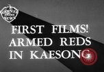 Image of Communist Chinese troops Kaesong Korea, 1951, second 5 stock footage video 65675072263