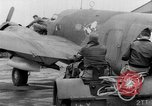 Image of loading airplane with movies for troops overseas New York United States USA, 1943, second 11 stock footage video 65675072285
