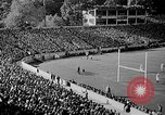 Image of football match West Point New York USA, 1946, second 2 stock footage video 65675072301
