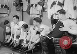 Image of ice hockey match Canada, 1946, second 4 stock footage video 65675072302