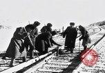 Image of Soviet-Mongolian-Chinese railroad link Naushki Russia, 1954, second 2 stock footage video 65675072367