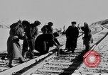Image of Soviet-Mongolian-Chinese railroad link Naushki Russia, 1954, second 3 stock footage video 65675072367
