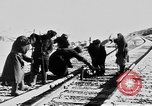 Image of Soviet-Mongolian-Chinese railroad link Naushki Russia, 1954, second 4 stock footage video 65675072367