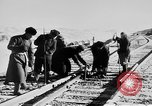 Image of Soviet-Mongolian-Chinese railroad link Naushki Russia, 1954, second 5 stock footage video 65675072367