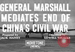 Image of George Carlett Marshall China, 1945, second 5 stock footage video 65675072368