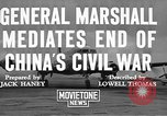 Image of George Carlett Marshall China, 1945, second 7 stock footage video 65675072368