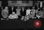 Image of Nikita Khrushchev handshake China, 1957, second 11 stock footage video 65675072369