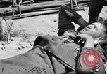 Image of wounded Allied soldiers Monte Cassino Italy, 1944, second 6 stock footage video 65675072377