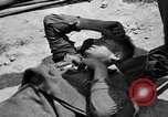 Image of wounded Allied soldiers Monte Cassino Italy, 1944, second 8 stock footage video 65675072377