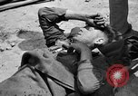 Image of wounded Allied soldiers Monte Cassino Italy, 1944, second 9 stock footage video 65675072377