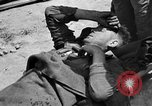 Image of wounded Allied soldiers Monte Cassino Italy, 1944, second 10 stock footage video 65675072377