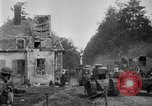 Image of U.S. Infantry and French FT-17 tanks advancing in World War 1 Western Front, 1918, second 12 stock footage video 65675072379