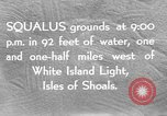 Image of USS Squalus Isles of Shoals United States USA, 1939, second 2 stock footage video 65675072423