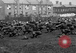 Image of American airmen exercise and calisthenics World War I London England United Kingdom, 1917, second 7 stock footage video 65675072433
