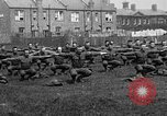 Image of American airmen exercise and calisthenics World War I London England United Kingdom, 1917, second 9 stock footage video 65675072433