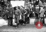 Image of Army versus Navy baseball in Anglo American Baseball League London England United Kingdom, 1917, second 6 stock footage video 65675072434