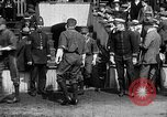 Image of Army versus Navy baseball in Anglo American Baseball League London England United Kingdom, 1917, second 8 stock footage video 65675072434