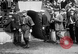 Image of Army versus Navy baseball in Anglo American Baseball League London England United Kingdom, 1917, second 11 stock footage video 65675072434
